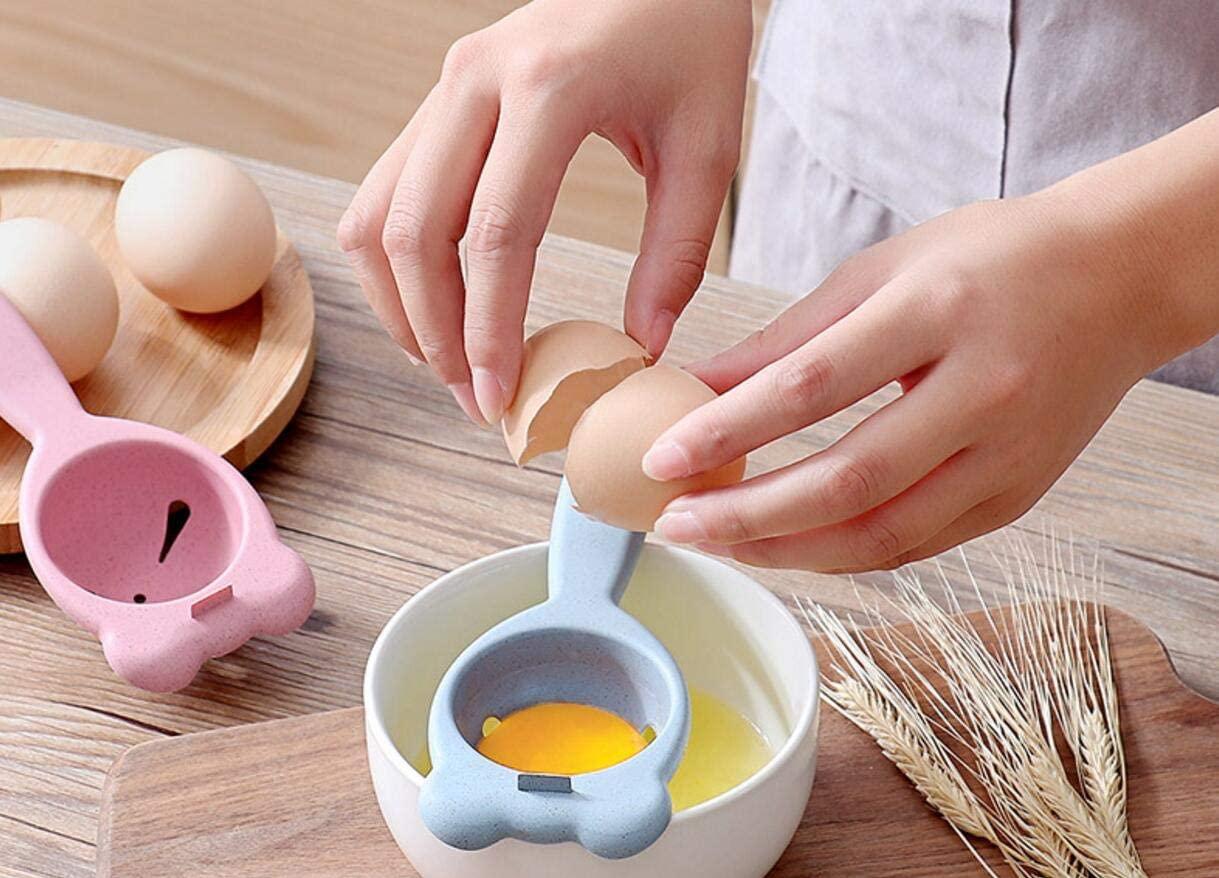 Wheat fiber egg white separator Home kitchen baking gadget egg yellow egg liquid separator