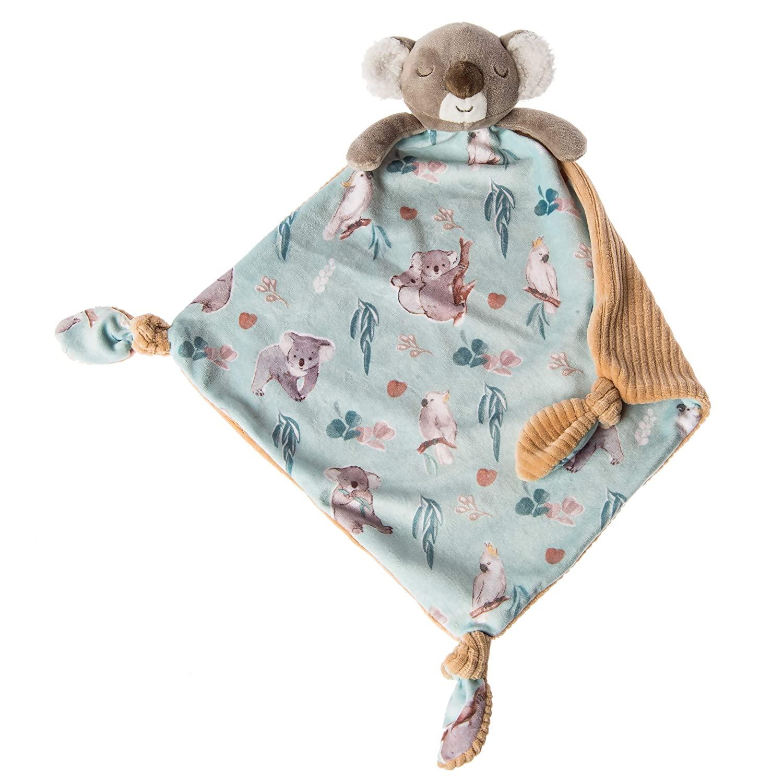 Mary Meyer Little Knottie Lovey Security Blanket, 10 x 10-Inches, Down Under Koala