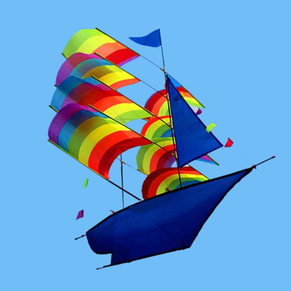 ZALE Individuality Kite, Kids Kite Beautiful Kites for Kids Easy to Fly for Beach Outdoor Quality Tearproof 3D Three-Dimensional Beginner (Color : 10pcs)