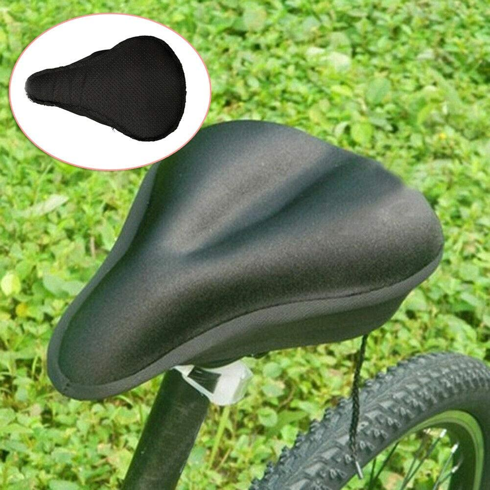 Bike Wide Big Bum Cushion Extra Comfort Sporty for Women Men Soft Pad Seat Cover