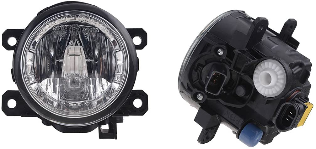 NEW OEM VALEO PAIR OF FOG LIGHTS COMPATIBLE WITH NISSAN LEAF 2011 2012 2013 261503NB0A NI2592133 44186