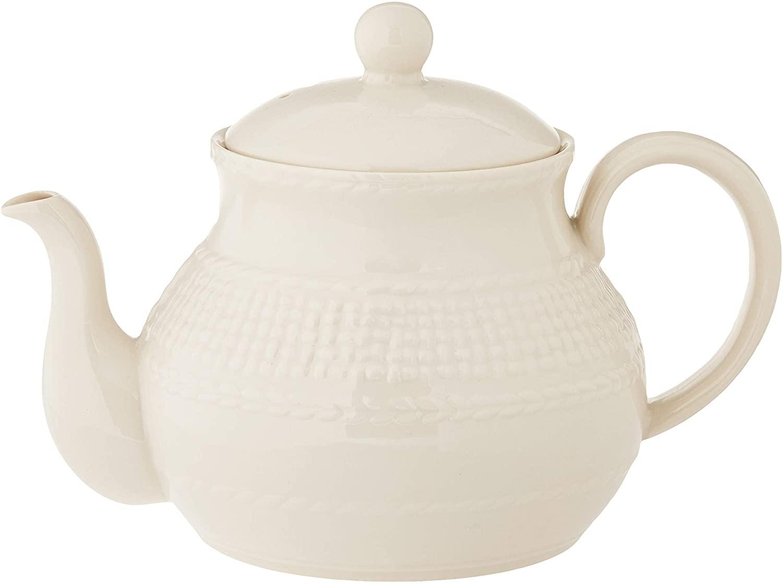 Belleek Galway Weave Beverage Pot