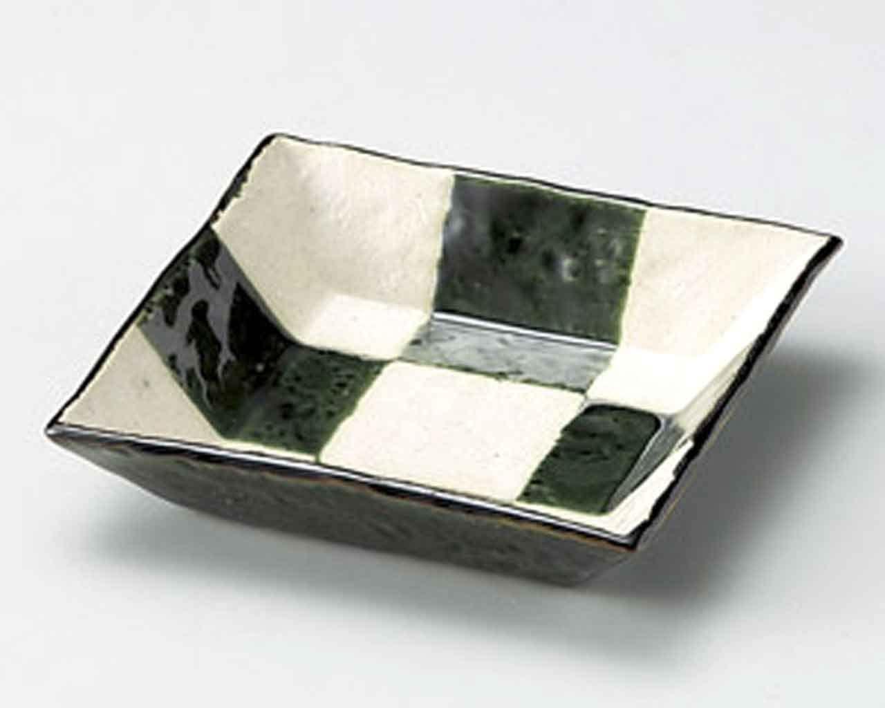 Oribe Kohshi 6.1inch Set of 2 Medium Plates White porcelain Made in Japan