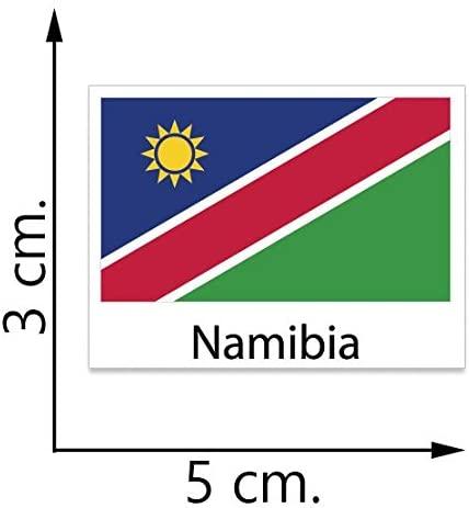 Namibia Flag Temporary Tattoos Sticker Body Tattoo