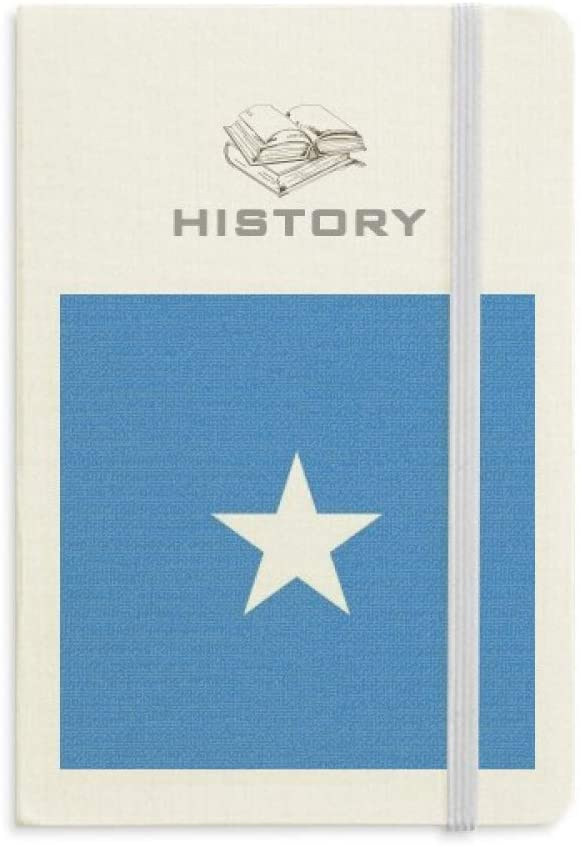 Somali National Flag Africa Country History Notebook Classic Journal Diary A5