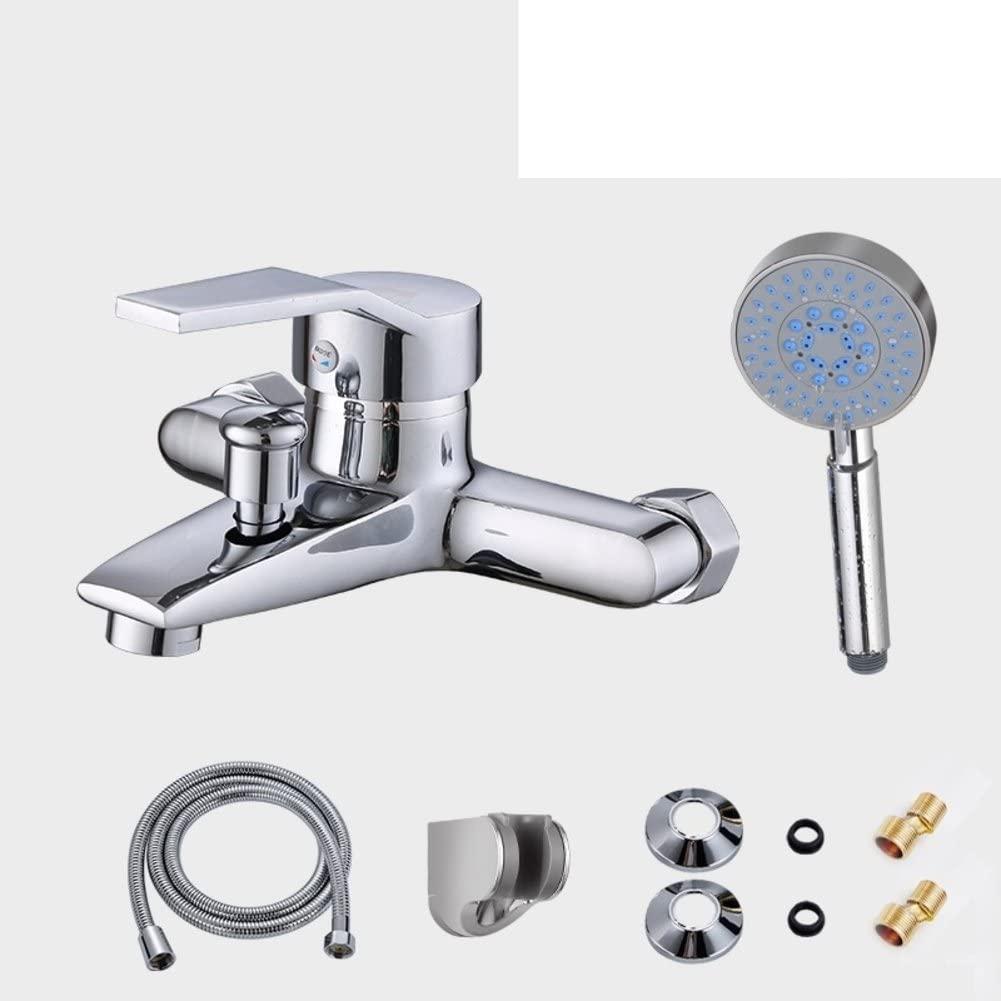copper bathtub/Hot and cold shower faucet/simple shower bath-C