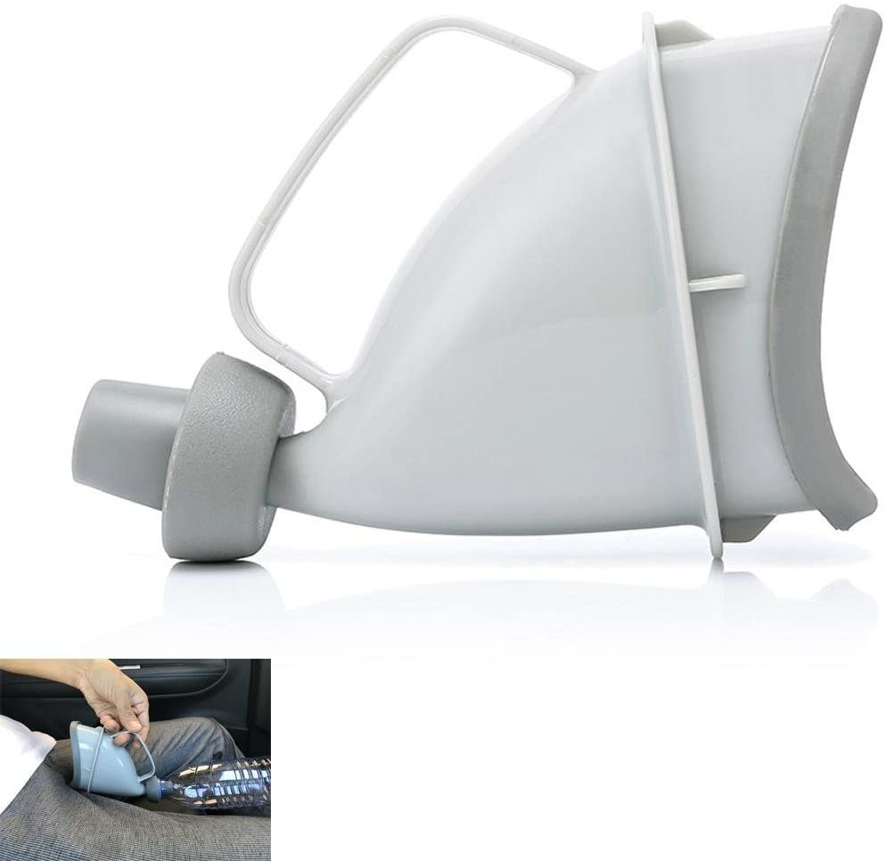 Portable Urinal Bottle for Men and Women?Easy Grip ?for Mobility of the Elderly, After Surgery,Disabled Men
