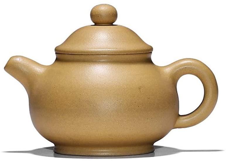 Kungfu Porcelain Lid Teas Teacups Sets Ore Purple Clay Teapot Segment LEBAO (Color : Huang Duanni)