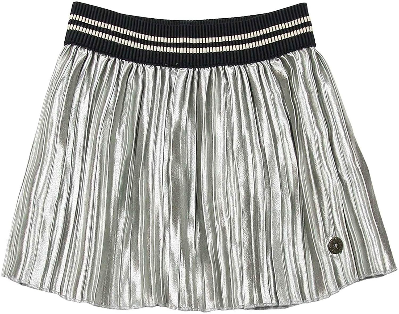 Dress Like Flo Girls Satin Plisse Skirt, Sizes 6-14