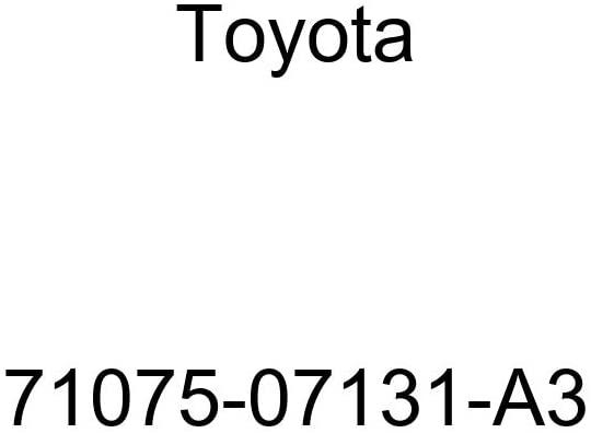 TOYOTA Genuine 71075-07131-A3 Seat Cushion Cover