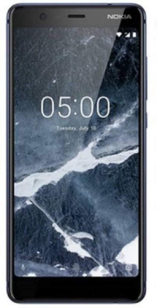 Nokia 5.1 4G LTE Dual Sim Factory Unlocked 32GB 3GB RAM (LTE Europe Asia Africa Cuba Digitel) Android 9 Octa Core (Blue)