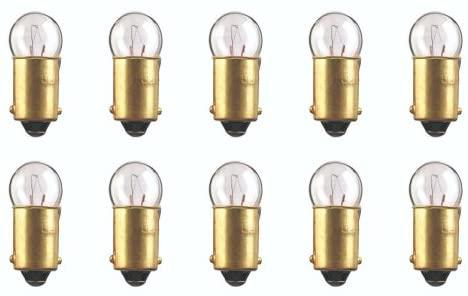 CEC Industries #363 Bulbs, 14 V, 2.8 W, BA9s Base, G-3.5 shape (Box of 10)