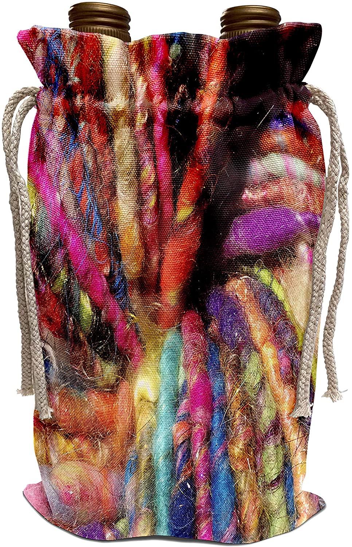 3dRose EvaDane - Photographs - Bright Super Bulky Yarn - Wine Bag (wbg_215043_1)
