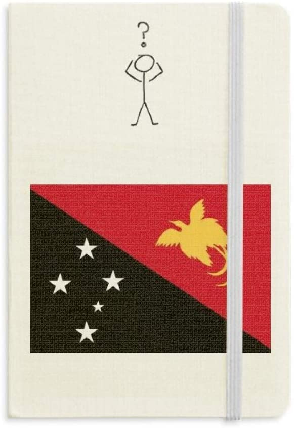 Papua New Guinea National Flag Oceania Country Question Notebook Classic Journal Diary A5
