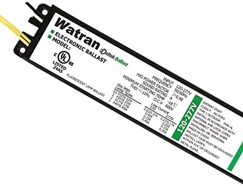 T8 Electronic Fluorescent Ballast Instant Start High BEF, 120/ 277V, 4/3 Lamp- Code: 80215