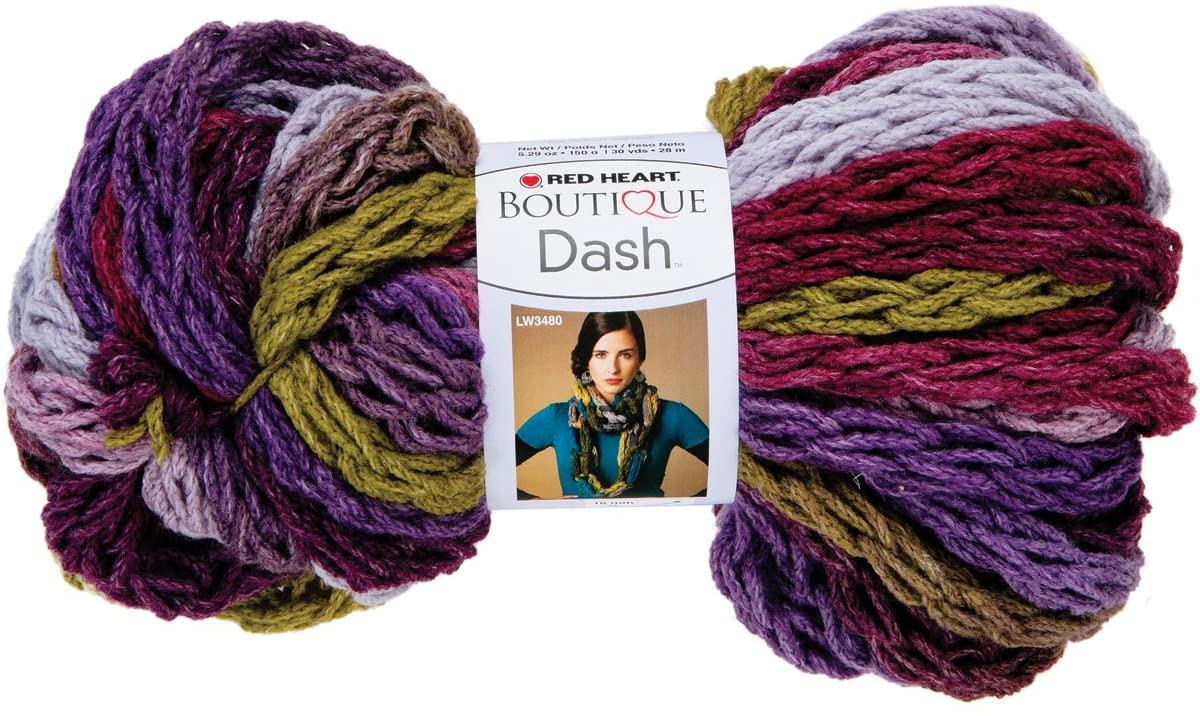 Red Heart Dash Yarn, Alpine