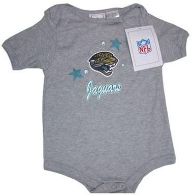 Reebok Jacksonville Jaguars NFL Baby/Infant Gray Creeper/Onesie