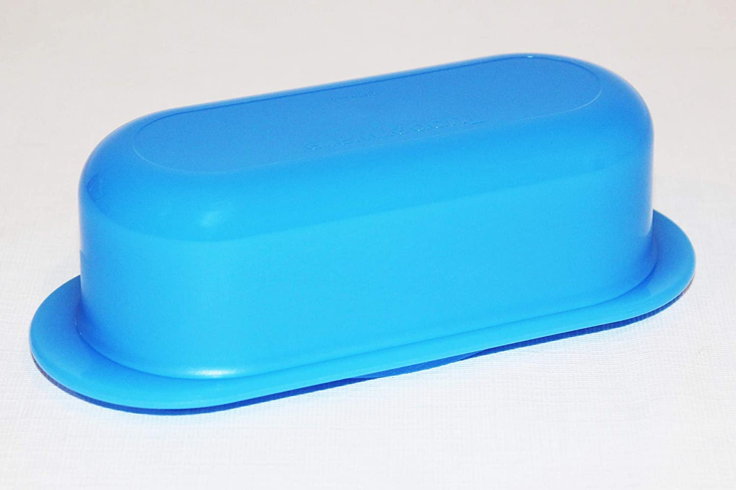 Tupperware (1) Butter Dish Open House Impressions Single Stick - Blue