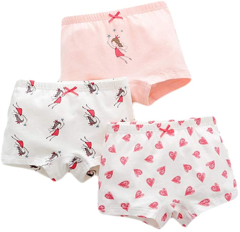 Girl Floral Panty Bundle Briefs Knickers Soft Underwear Pack of 3