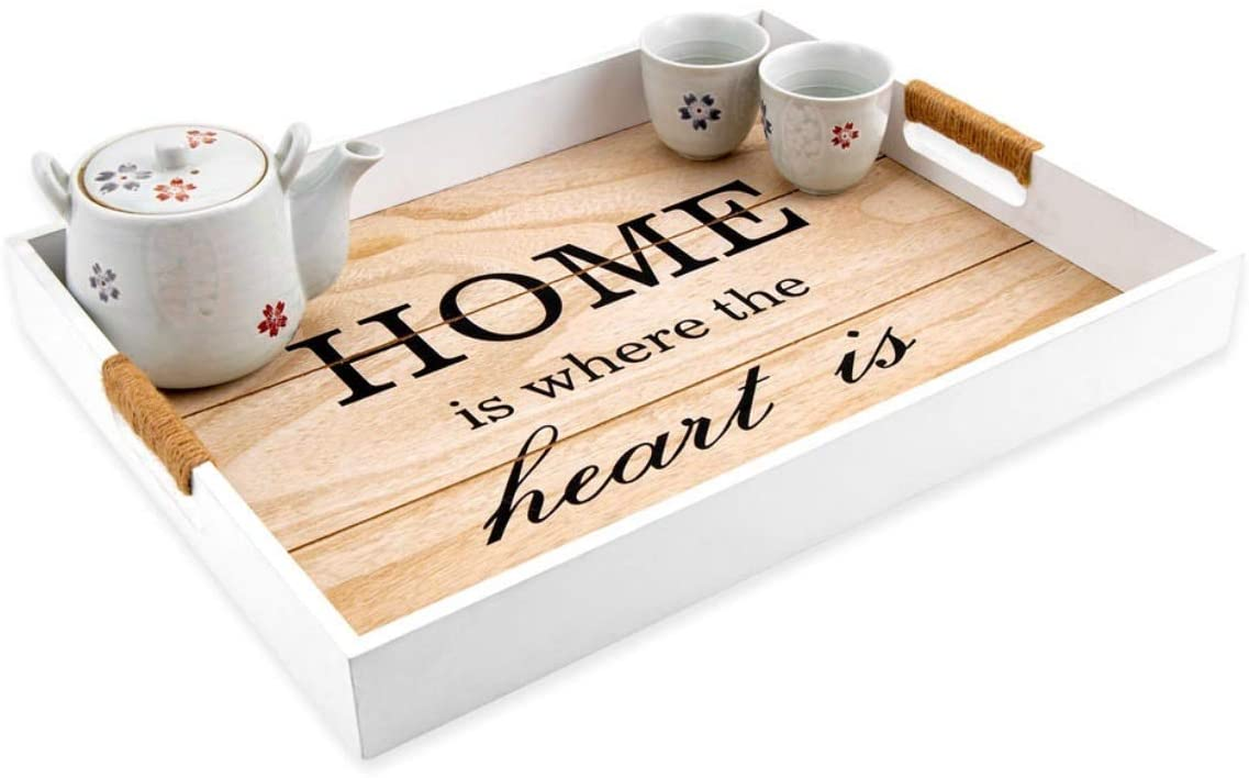 Sohan Decorative Coffee Table Tray, Tea Tray, Food, Breakfast, Tray for Your Family!