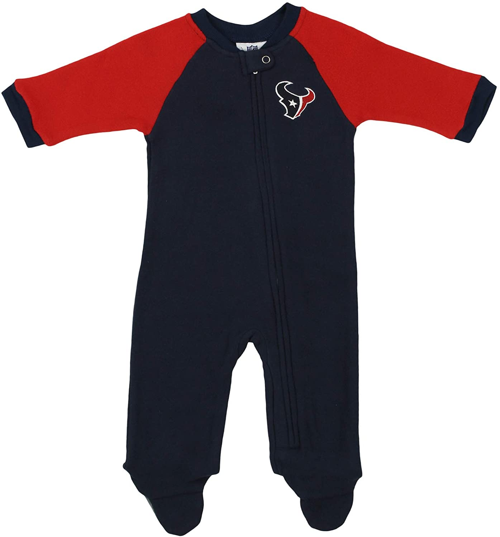 Outerstuff NFL Newborn (0M-9M) Fleece Blanket Sleeper, Team Variation