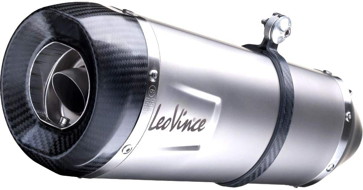 Leo Vince Factory S Full System Exhaust (Stainless Steel) for 18-20 Kawasaki EX400ABS