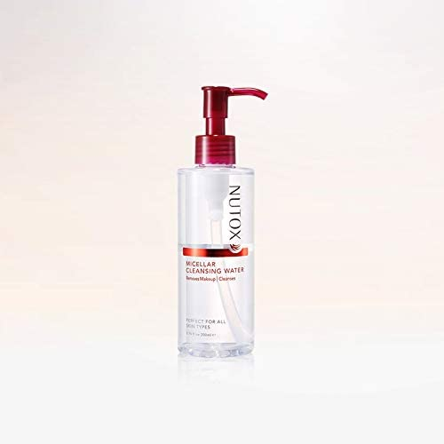NUTOX Cleansing Oil 200ml -NUTOX 3-in-1 Cleansing Oil goes Deeper to Dissolve Waterproof Makeup, Pore-Clogging impurities and White Heads Instantly Without Striping Away The Moisture from Your Skin