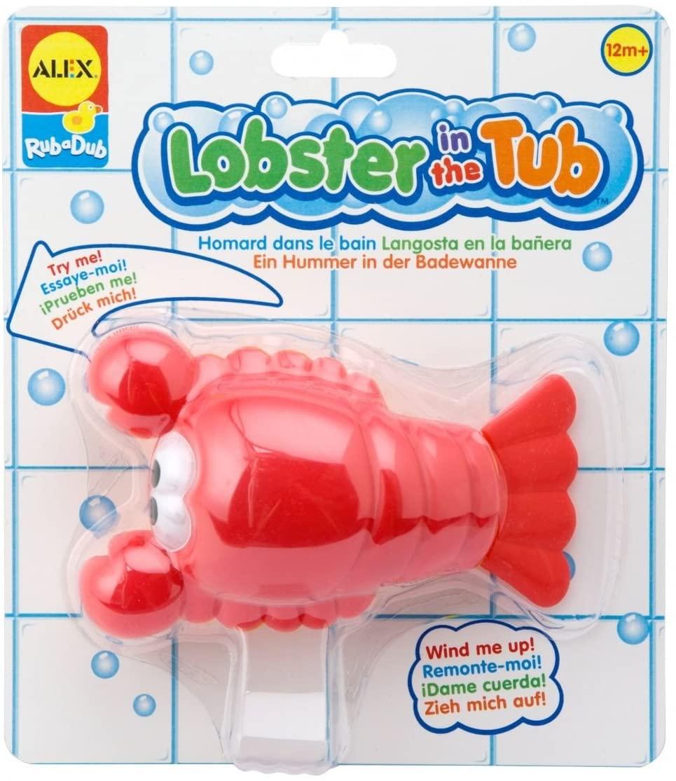 ALEX Toys Rub a Dub Lobster in the Tub
