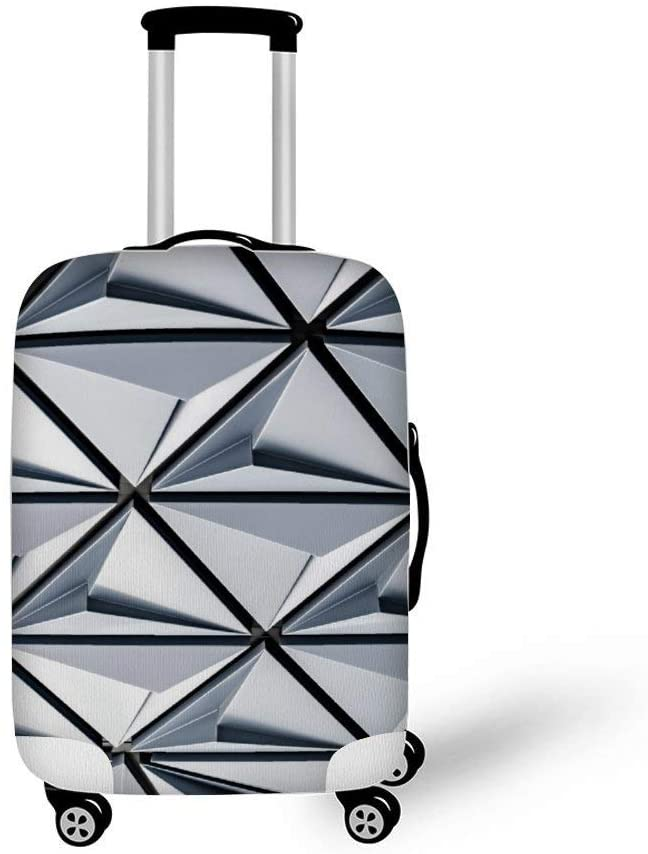 Abstract Background Painting Art Fashionable Baggage Suitcase Protector Travel Luggage Cover Anti-Scratch