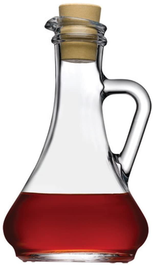 6.25H x 1.5T x 3.75B Oil & Vinegar with Cork Stopper, Case of 12