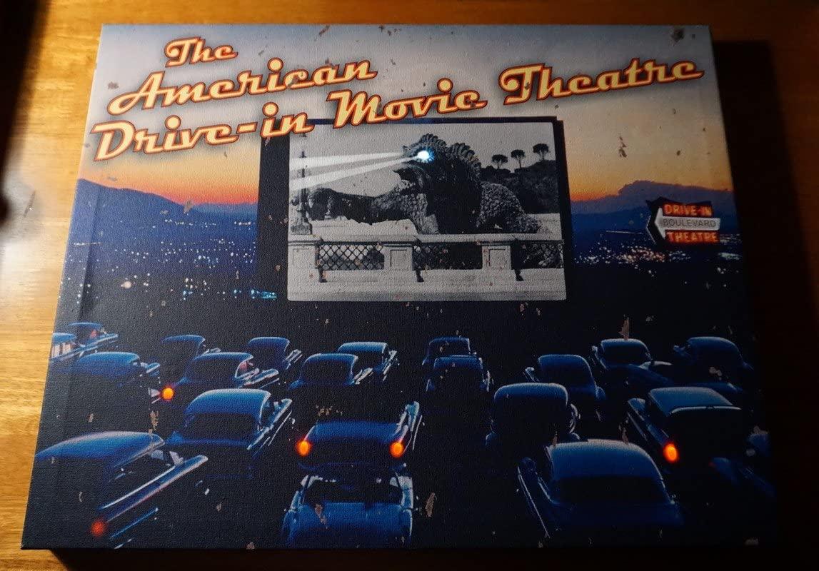 American Drive-In Movie Theatre Theater Classic Retro Light Up Sign Decor