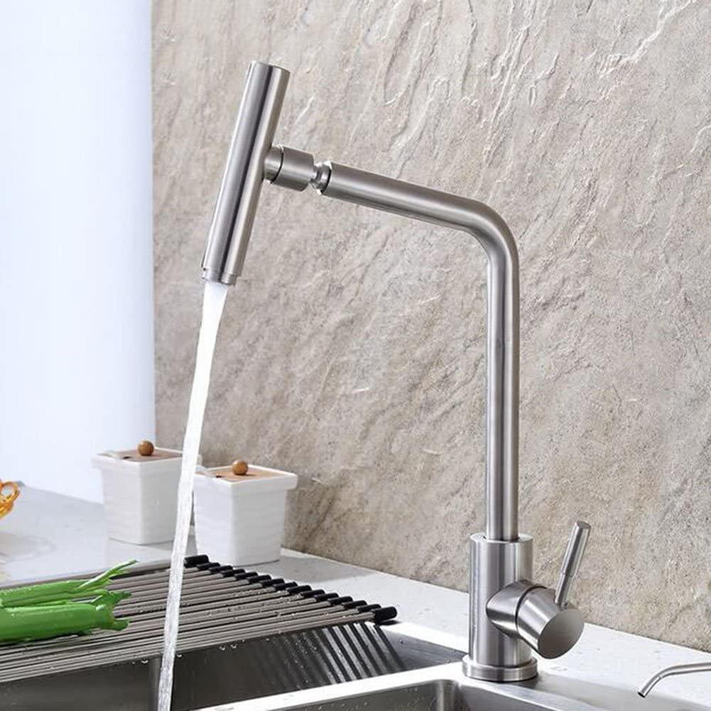 Kitchen Sink Faucets Kitchen Tap 360° Swivel Faucet Bathroom Sink Mixer Tap Single Handle Washroom Basin Mixer Taps