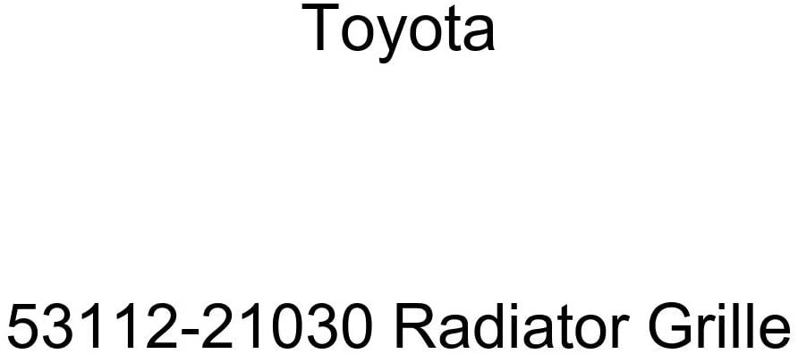 Genuine Toyota 53112-21030 Radiator Grille