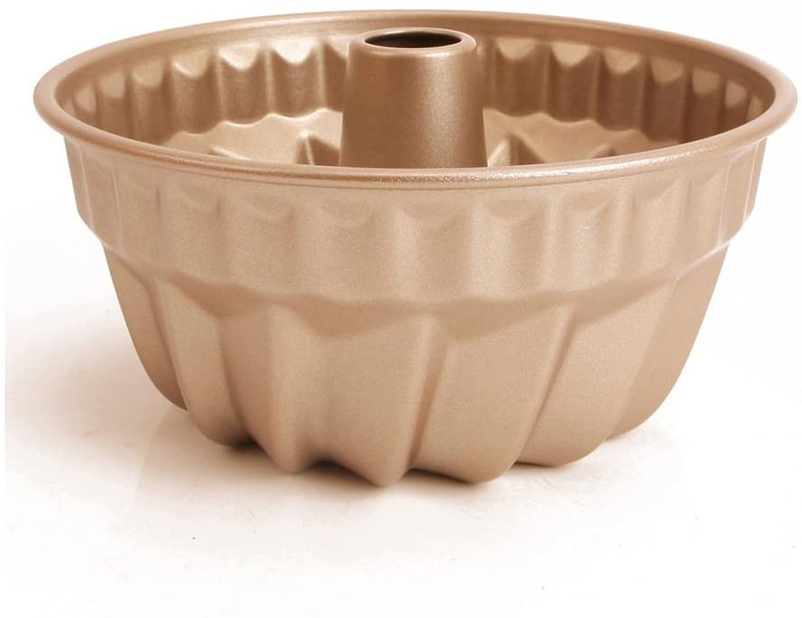 WK9084 Chef's Classic Nonstick Bakeware 7-Inch Fluted Cake Pan
