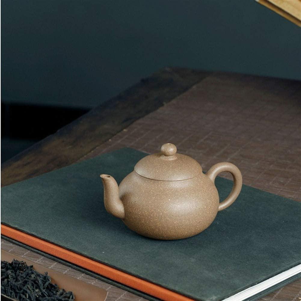 MADONG Handmade teapot pear-shaped mud down the slope kung fu tea Health Tea Set (Size : Purple mud)