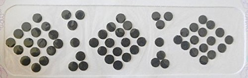 120 Black Plain Bindi 4 mm Black Round Bindi Dot Forehead Jewelery Velvette Stickers Indian Kumkum Black Indian Bindi BellyDance Tattoo