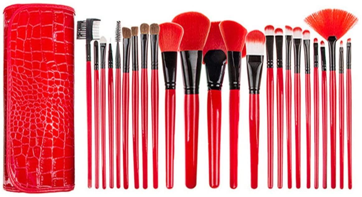 zZZ ZXZ 24 Pcs Makeup Brush Set Brushes Rest Brush Loose Powder Brush Foundation Brush Concealer Brush Eye Shadow Brush Makeup Tools Beautiful