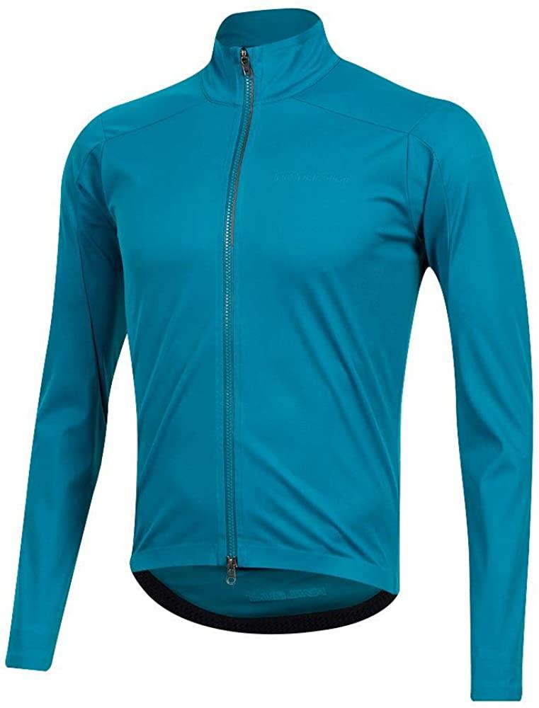 PEARL IZUMI Mens PRO AmFIB Shell Cycling Jacket, Teal, XX-Large
