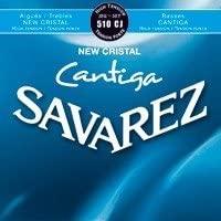 CUERDAS GUITARRA CLASICA - Savarez (510/CJ) New Cristal Cantiga Azul Tension Fuerte (Juego Completo)
