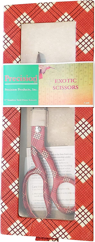 Precision 8 German Stainless Steel Exotic Dress Scissors