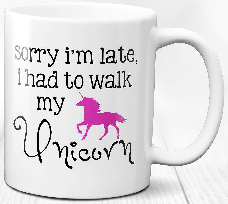 Unicorn Coffee Mug Fantasy Theme Gift 11 oz Ceramic Tea Cup