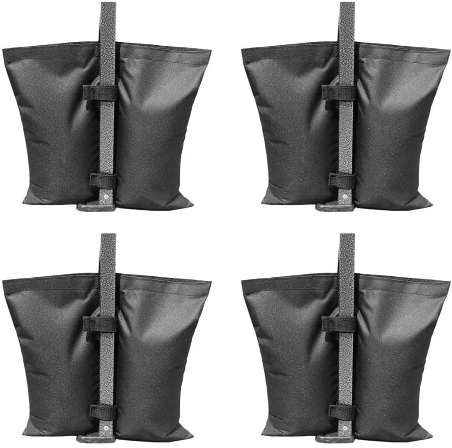 Aooba Industrial Grade Canopy Weights Bag Leg Weights for Pop up Canopy Tent 4pcs-Pack