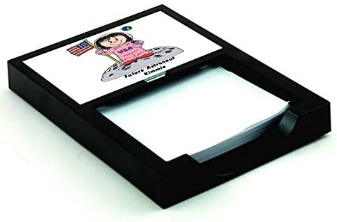 Personalized Friendly Folks Future Astronaut - Female, Pink Memo Holder