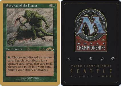 Magic The Gathering - Survival of The Fittest - World Championship Deck Singles