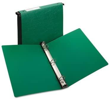 Hanging Storage Binder with Gap Free Round Rings, 1'' Capacity, Green, Total 12 EA, Sold as 1 Carton
