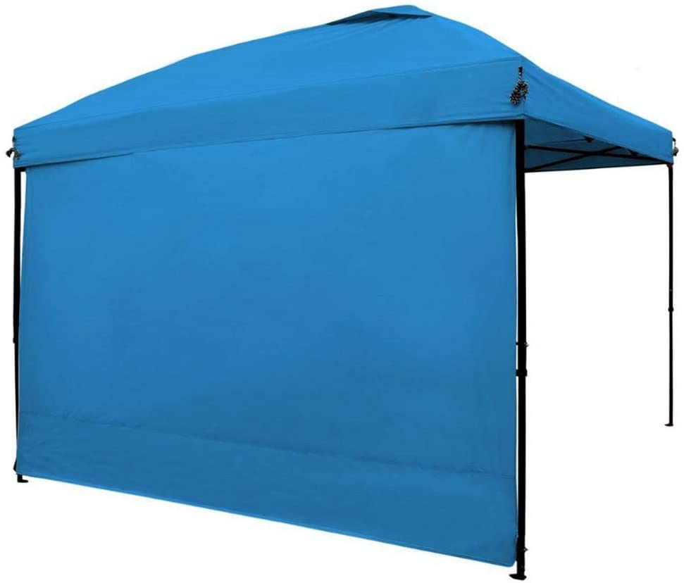 wovemster Instant Canopy SunWall, Folding Straight Leg Pop Up Canopy Sidewall, Outdoor Folding Awning Extension Cloth Awning Tent Cooking Account Living Room Account Cloth 3 Meters Single Side