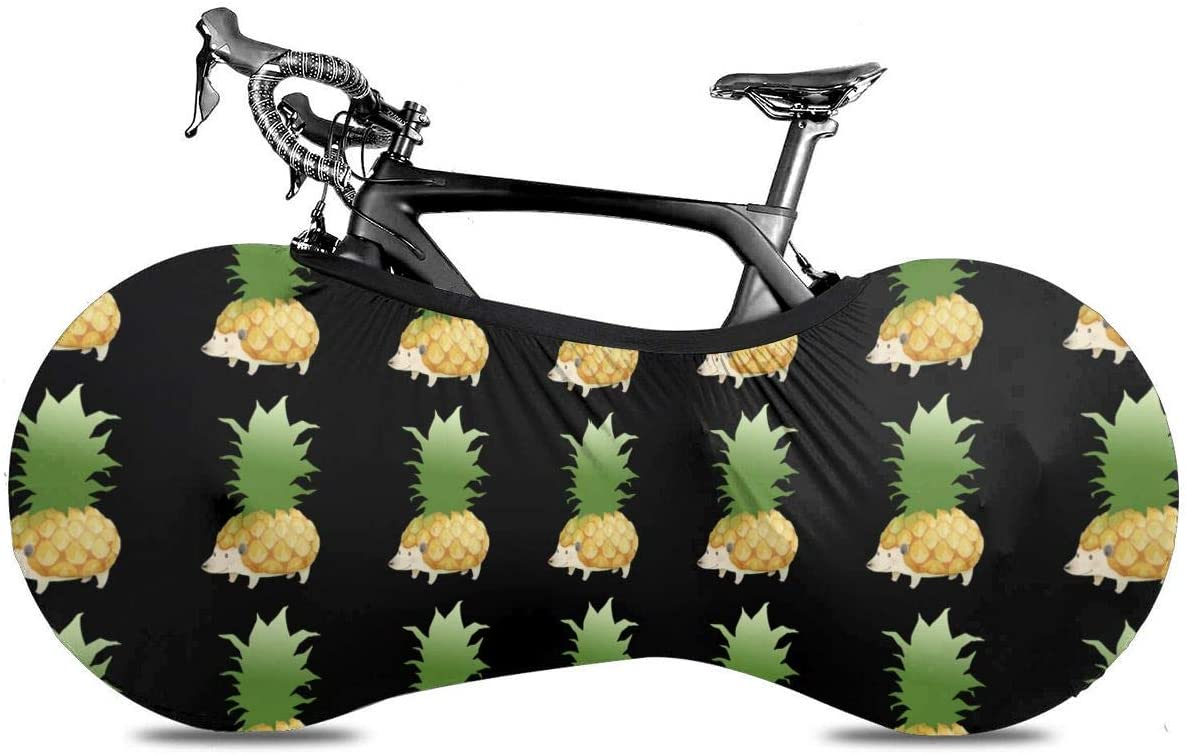 KLQ Pineapple Hedgehog Bike Dust Cover Bicycle Wheel Protective Case