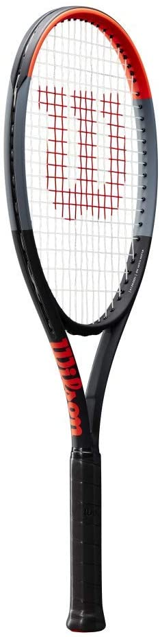 Wilson Clash 108 Tennis Racquet Strung with Synthetic Gut Power Racket String in Your Choice of Color (Enlarged Sweet Spot for Off-Center Hits)