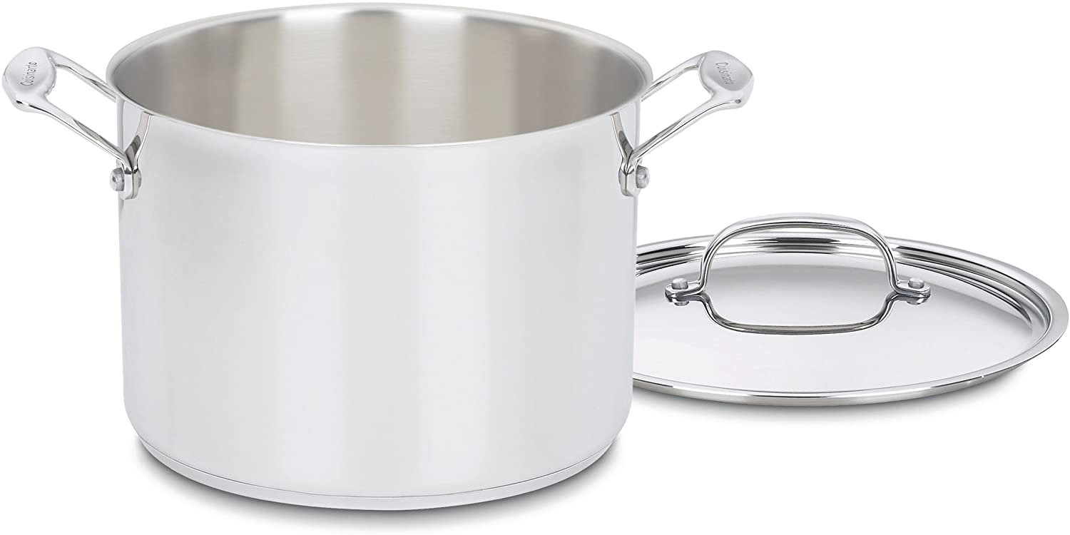 Cuisinart 766-24 Chef's Classic 8-Quart Stockpot with Cover, silver