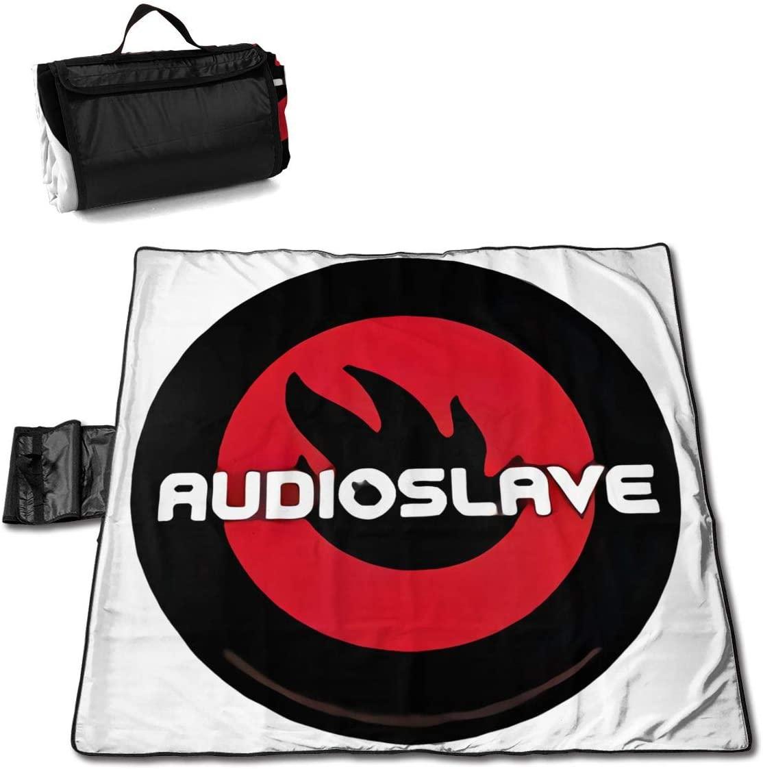 Htw Au-Dioslave Portable Printed Picnic Blanket Waterproof 59x57(in)